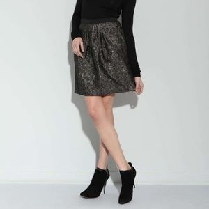 2B.Rych Black And Gold Skirt